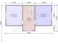Дом из бруса проект Адриан - вид 4