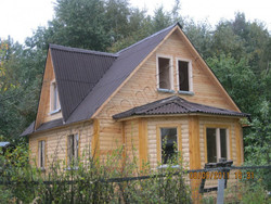 Дом из бруса проект Добрыня - вид 3