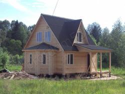 Дом из бруса проект Добрыня - вид 4