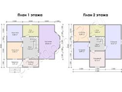 Дом из бруса проект Прокопий - вид 3