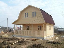 Дом из бруса проект Роман - вид 5