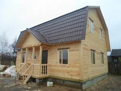 Дом из бруса проект Слава - вид 4