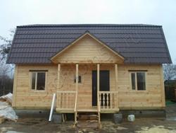 Дом из бруса проект Слава - вид 5