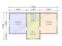 Дом из бруса проект Юстиниан - вид 4